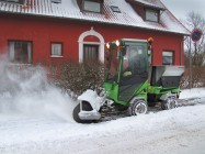 Park Ranger 2150 Action Snow sweeper 2 Web